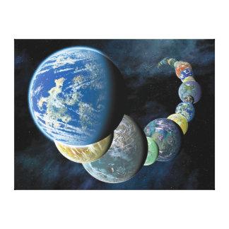 Strange New Worlds Stretched Canvas Prints