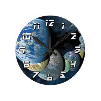 Strange New Worlds Wall Clocks