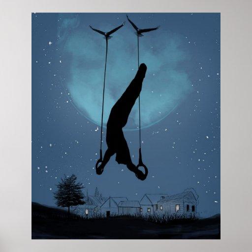 Strange night poster
