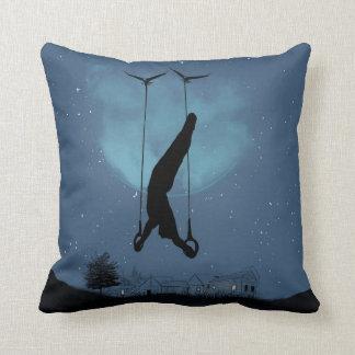 Strange night throw pillow
