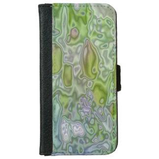 Strange patter of a apple tree iPhone 6 wallet case