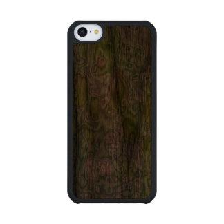 Strange patter of a apple tree walnut iPhone 5C slim case