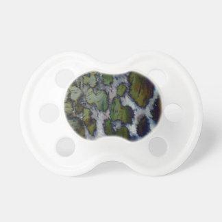 Strange pattern baby pacifiers