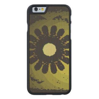 Strange pattern carved® maple iPhone 6 slim case