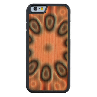 Strange pattern carved® cherry iPhone 6 bumper