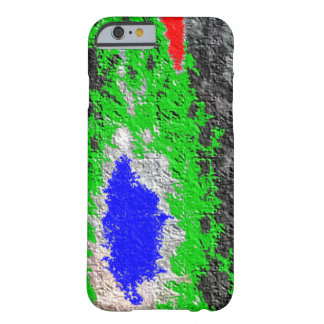 Strange random colorful pattern barely there iPhone 6 case