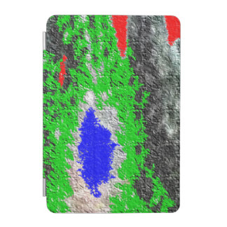 Strange random colorful pattern iPad mini cover