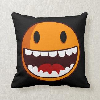 Strange smiley cushion