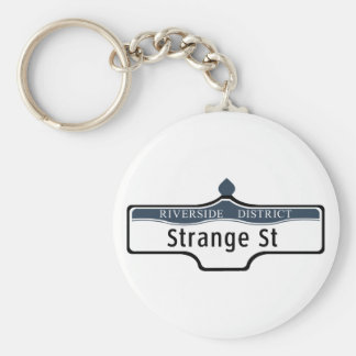 Strange Street Toronto Street Sign Key Chains