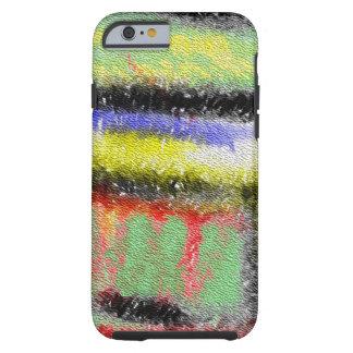Strange texture colorful pattern tough iPhone 6 case