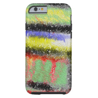 Strange texture colorful pattern tough iPhone 6 case