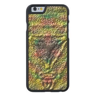 Strange texture pattern carved® maple iPhone 6 slim case