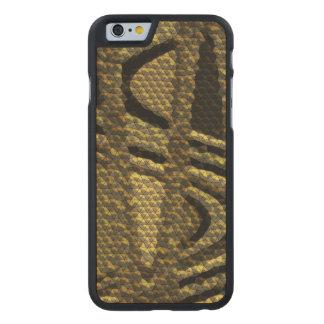 Strange tiles pattern carved® maple iPhone 6 case