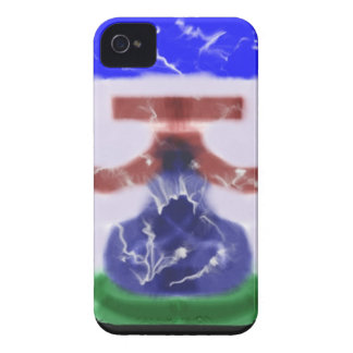 Strange trendy pattern Case-Mate iPhone 4 case