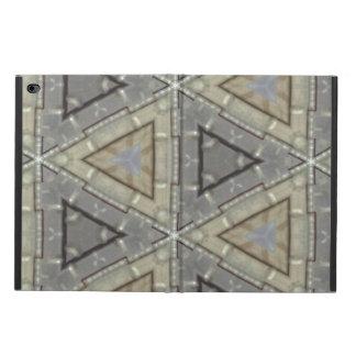 Strange triangle pattern powis iPad air 2 case