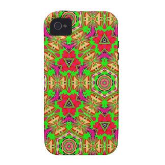 Strange unique pattern iPhone 4 case