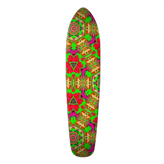 Strange unique pattern skateboard decks