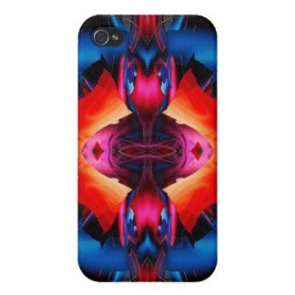 Strange Vibrations iPhone 4 Covers