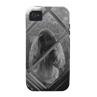 Strange Woman Trapped in iPhone iPhone 4 Cases