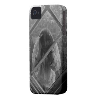 Strange Woman Trapped in Phone iPhone 4 Cases