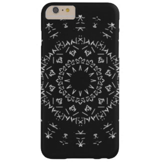 Strange writing barely there iPhone 6 plus case