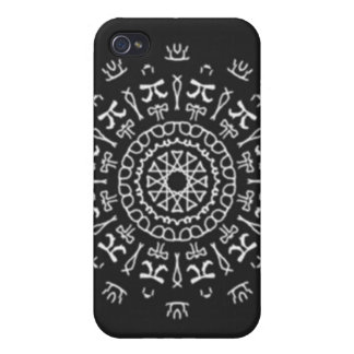 Strange Writing Covers For iPhone 4
