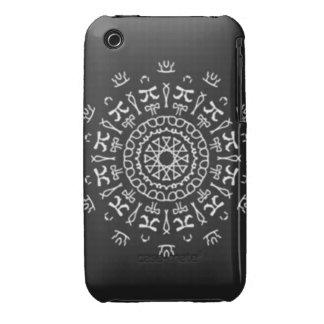 Strange Writing iPhone 3 Cases