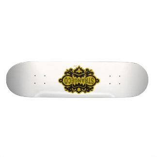 Strangeco Logo Skateboard
