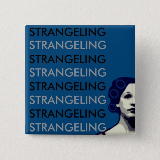 STRANGELING 15 CM SQUARE BADGE