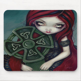Strangely Lonely gothic fairy celtic  Mousepad
