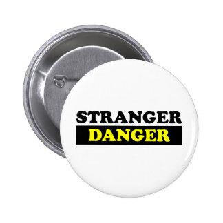 Stranger Danger Pinback Button