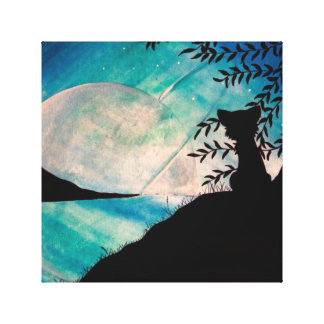 Stranger on this planet canvas canvas print