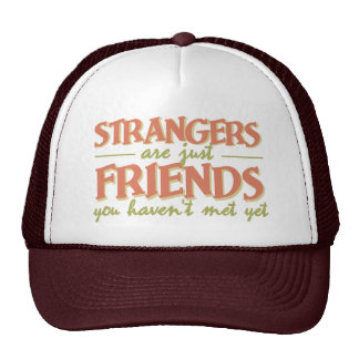 STRANGERS / FRIENDS hat - choose color
