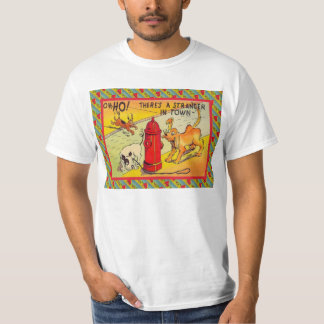 Strangers in town tshirts