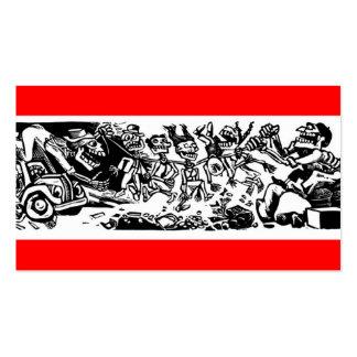 """""""Strangler Calaveras"""" circa 1942 MEXICO Business Card"""