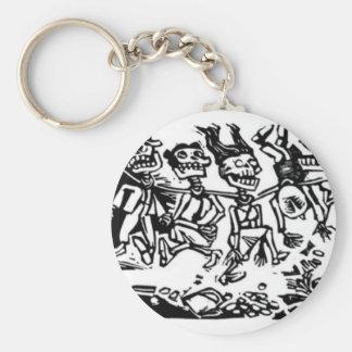 """""""Strangler Calaveras"""" circa 1942 MEXICO Key Chains"""