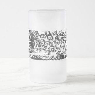 Strangler Calaveras circa 1942 MEXICO Coffee Mugs