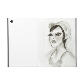 Strappy Flapper Case For iPad Mini