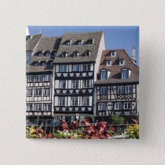 Strasbourg, France 15 Cm Square Badge
