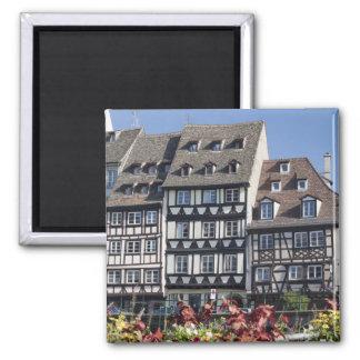 Strasbourg, France Square Magnet