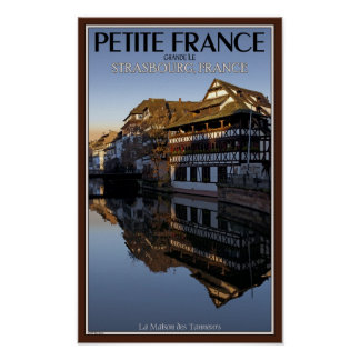 Strasbourg - Ill River Reflections Poster
