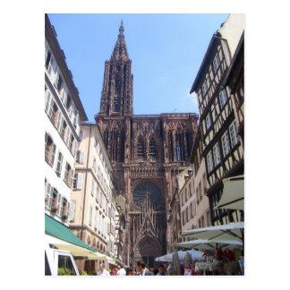Strasbourg - postcard