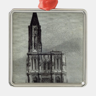 Strasburg Cathedral Christmas Ornament