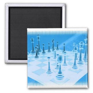 Strategic Chess Play Magnet