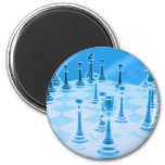 Strategic Chess Play Magnet Refrigerator Magnets