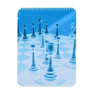 Strategic Chess Play Premium Magnet