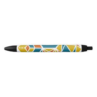 Strategios / Custom Black Trim Pen, Black Ink Black Ink Pen
