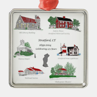 Stratford 375 in Color Christmas Ornament
