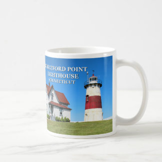 Stratford Point Lighthouse, Connecticut Mug