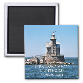 Stratford Shoal Lighthouse, Connecticut Magnet